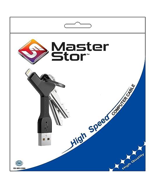 Llavero con cable USB cargador y sincronizador de MasterStor ...