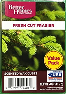 better homes and gardens fresh cut frasier wax cubes - Better Home And Garden