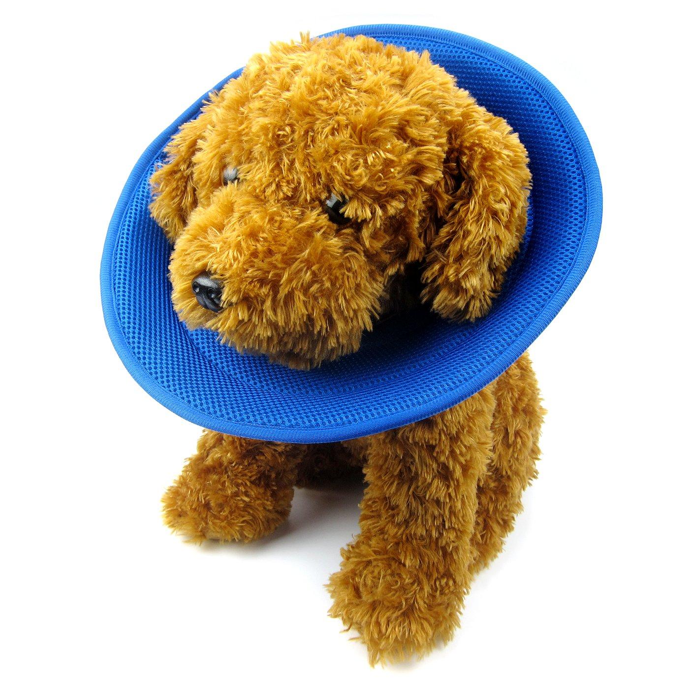 bluee Medium bluee Medium Alfie Pet Karter Recovery Collar for Dogs and Cats color  bluee, Size  Medium