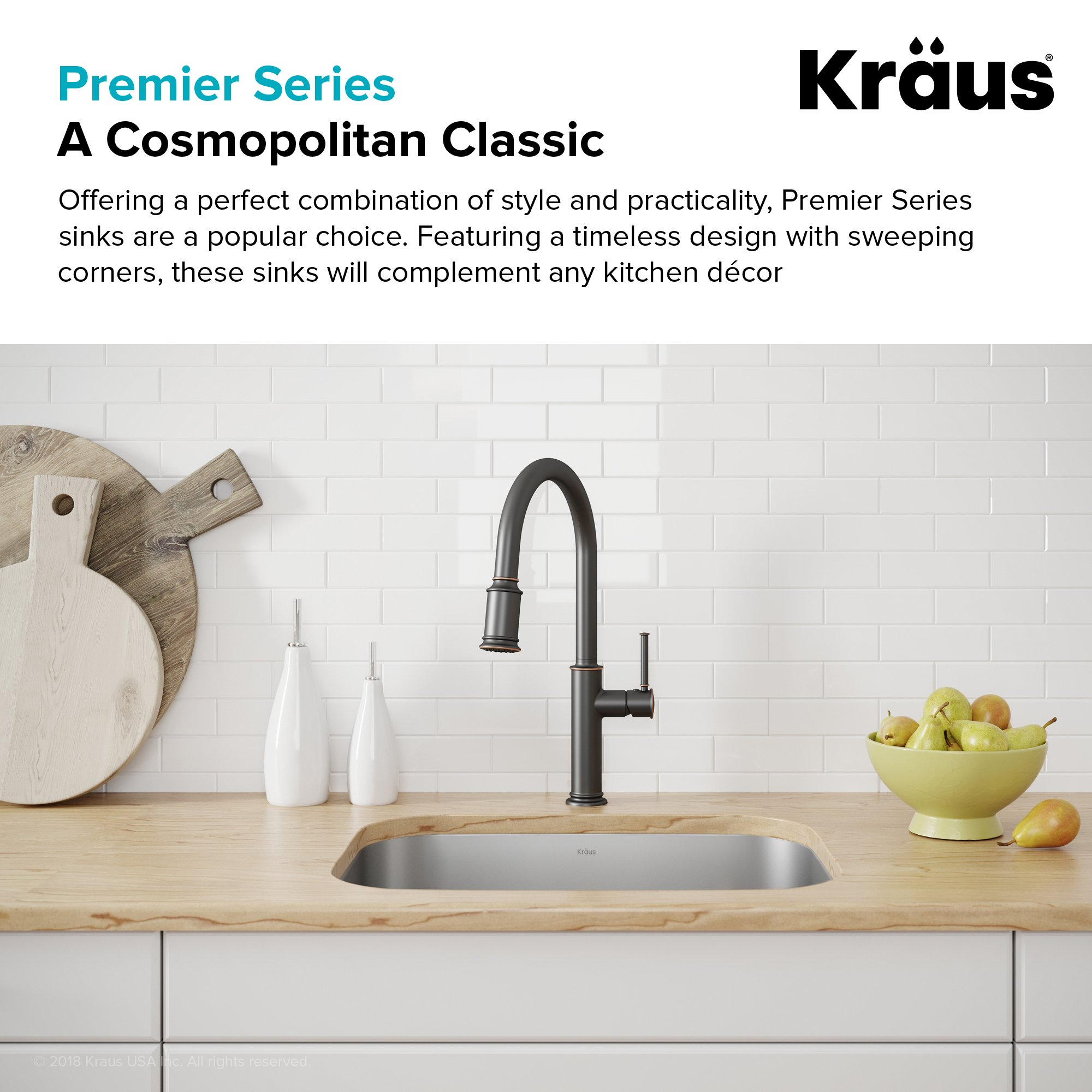 Kraus KBU12 23 inch Undermount Single Bowl 16 gauge Stainless Steel Kitchen Sink by Kraus (Image #4)