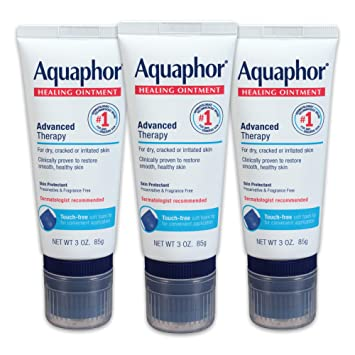 Amazon.com : Aquaphor Healing Ointment With Touch-Free Applicator ...