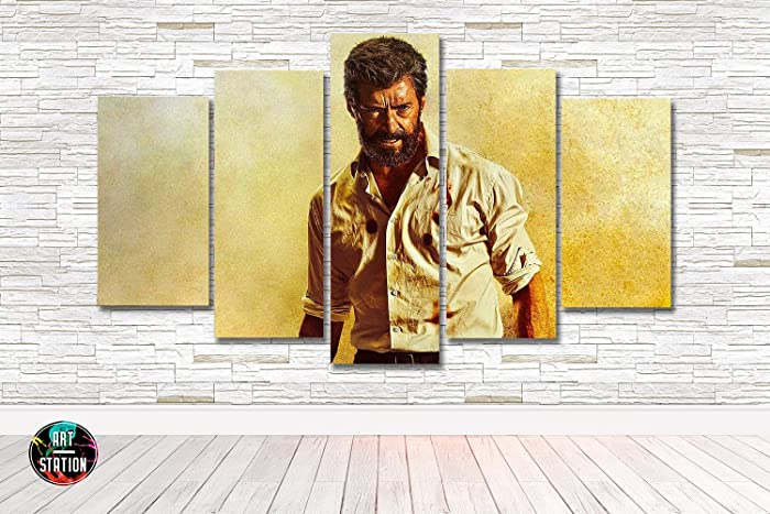 Amazon.com: Logan Wolverine Comic Book Movie Canvas Print - Multi ...