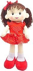 Linzy Toys Muñeca De Trapo y Tela Abbie Color Rojo