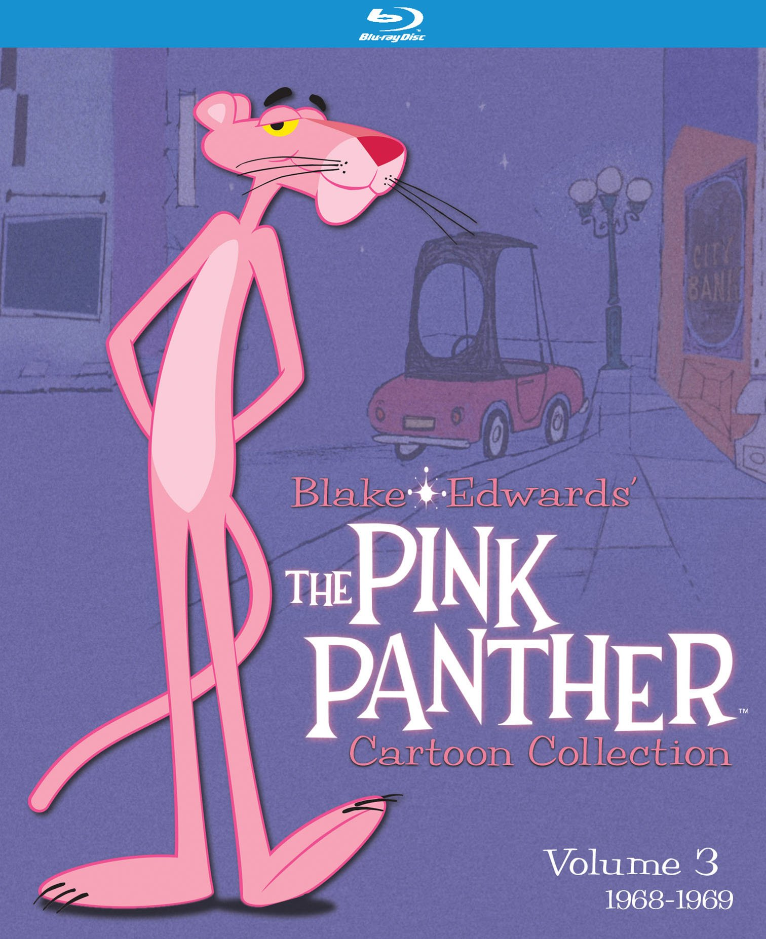 Blu-ray : The Pink Panther Cartoon Collection: Volume 3 (1968-1969) (Blu-ray)