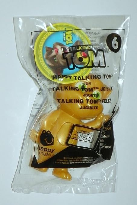 Amazon Com Mcdonalds Tom Jerry 6 Happy Talking Tom Gold