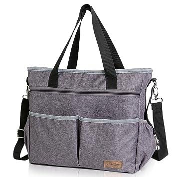Multifunktionale Wickeltasche Tote Bag Schultertasche Handtasche für Mutter Baby