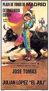 Cartel de toros con un nombre personalizable - J. Tomás/El ...
