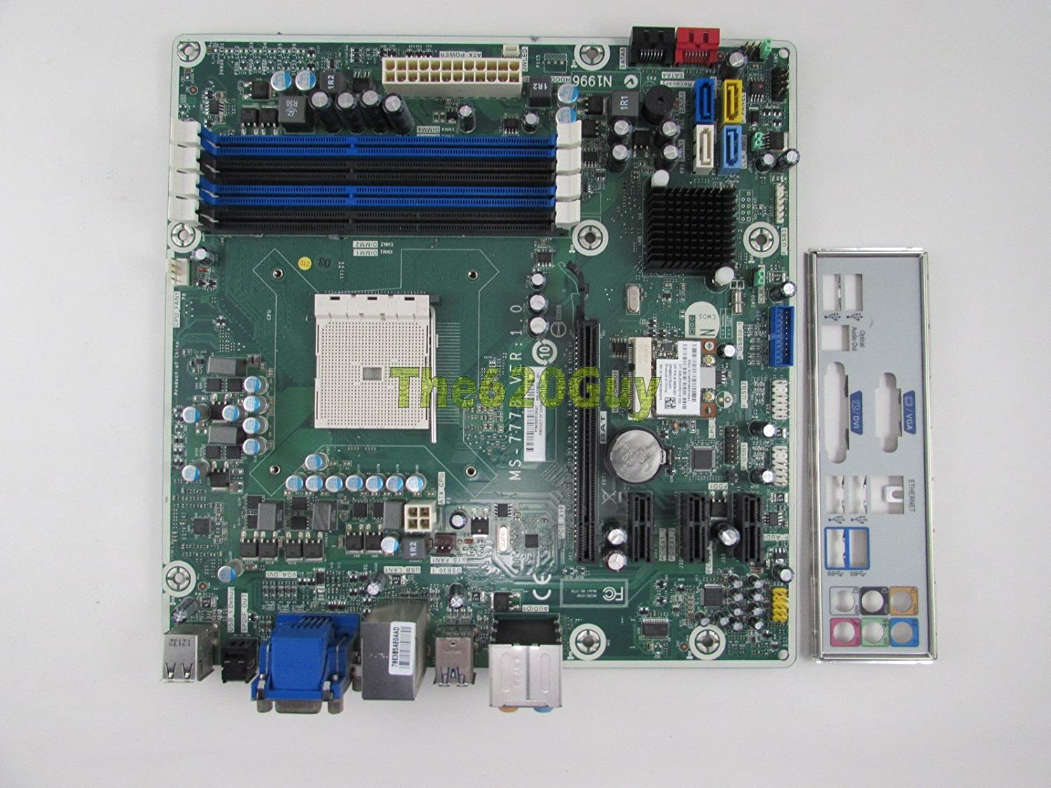 Hp Pavilion P7 1235 Jasmine 675852 001 Msi Ms 7778 Ver 10 Fm2 A75 Lotong L1 Bluetooth Headset Motherboard Electronics