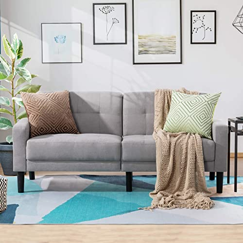 Vongarsig 63 Small Modern Loveseat Couch