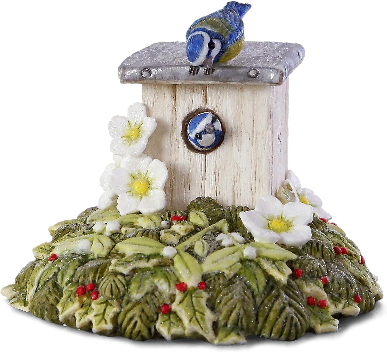 Hallmark Keepsake Christmas Ornament 2019 Year Dated Marjolein's Garden Tweet Home Bird House