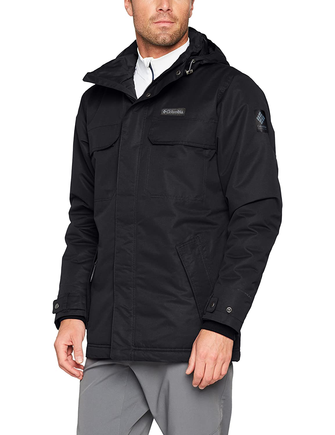 TALLA L. Columbia Rugged Path Jacket Chaqueta Impermeable, Hombre