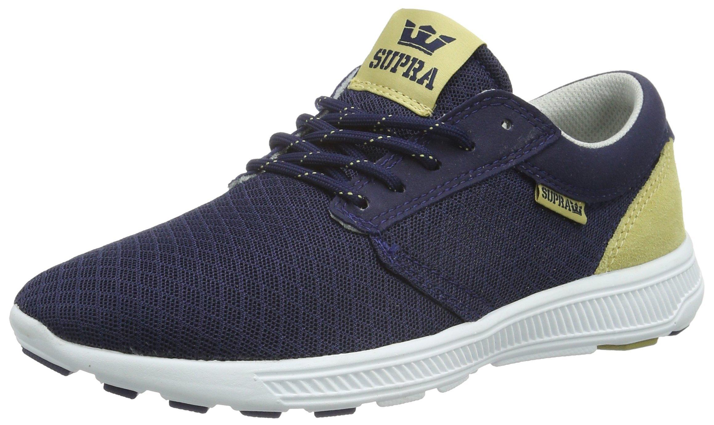 Supra Men's Hammer Run Navy/Hemp/White Athletic Shoe