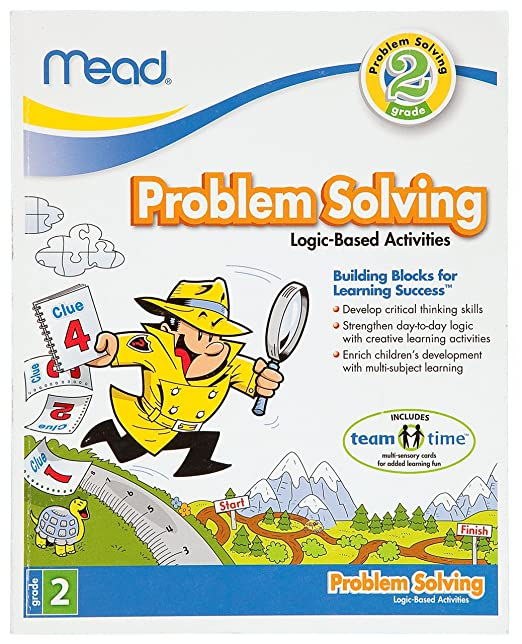 Amazon.com : Mead 2nd Grade Problem Solving Workbook, 10 x 8 ...