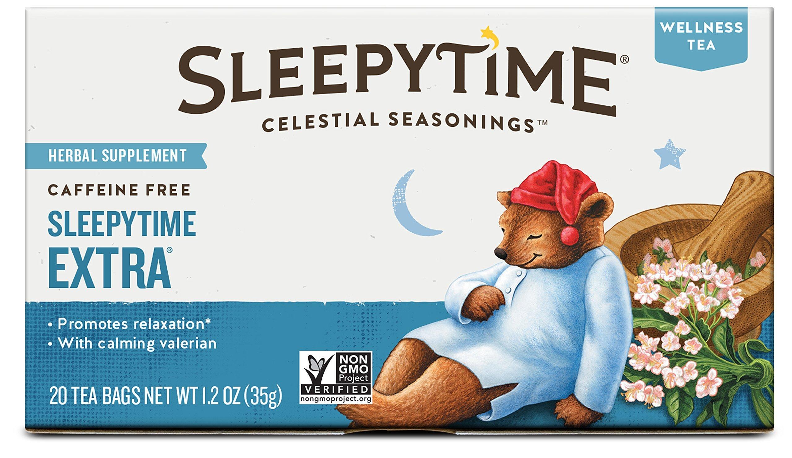 Celestial Seasonings Herbal Tea, Sleepytime Extra, 20 Count