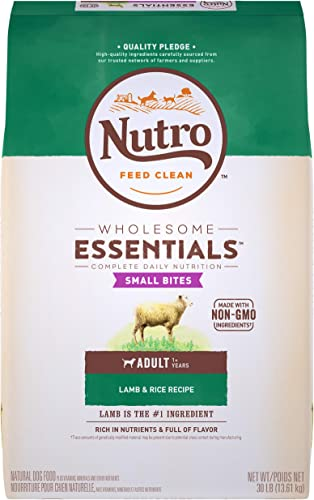 NUTRO WHOLESOME ESSENTIALS Small Bites Adult Lamb Rice Dry Dog Food