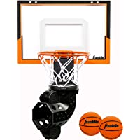 Franklin Sports Mini Basketball Hoop with Rebounder and Ball - Over The Door Basketball Hoop With Automatic Ball…