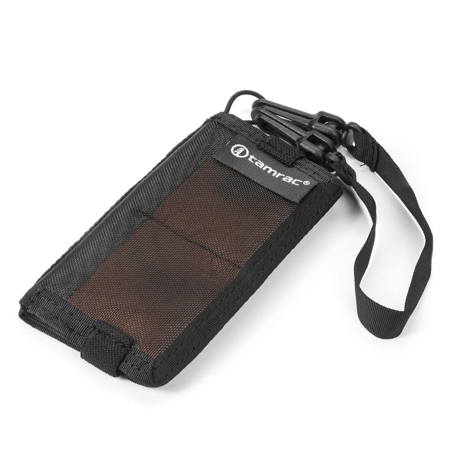 Tamrac Goblin Memory Card Wallet for 6 SD - 4 Compact Flash Cards (Pumpkin)