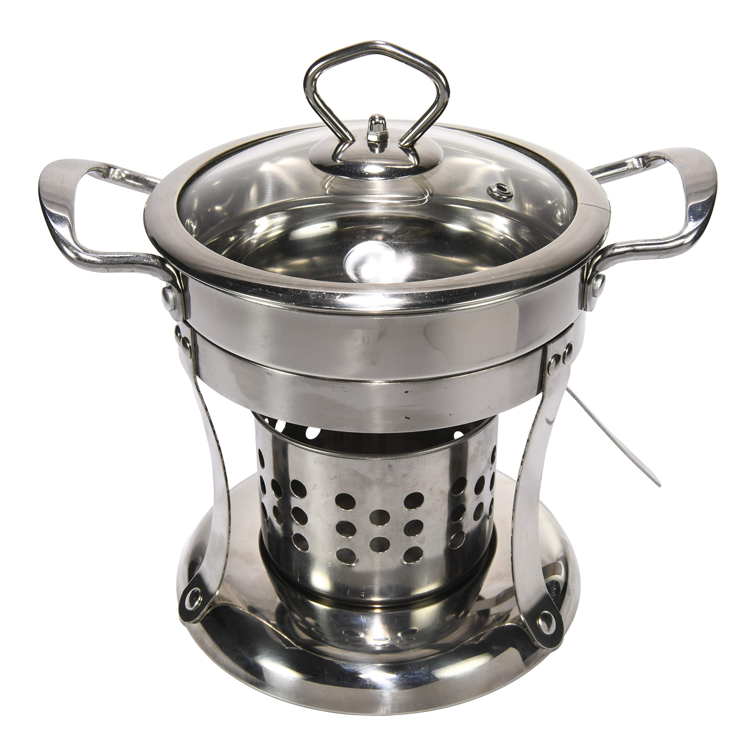 Hot Pot & Shabu Shabu Pot Cooker. Individual Hot Pots Great for Entertaining and for Personalizing your own Chinese Hot Pot at Home. Set of 2. by PartiPot