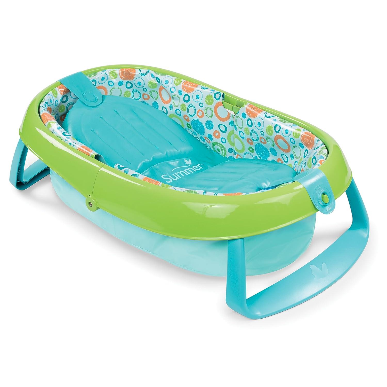 Amazon.com : Summer Infant EasyStore Comfort Tub, Blue : Baby