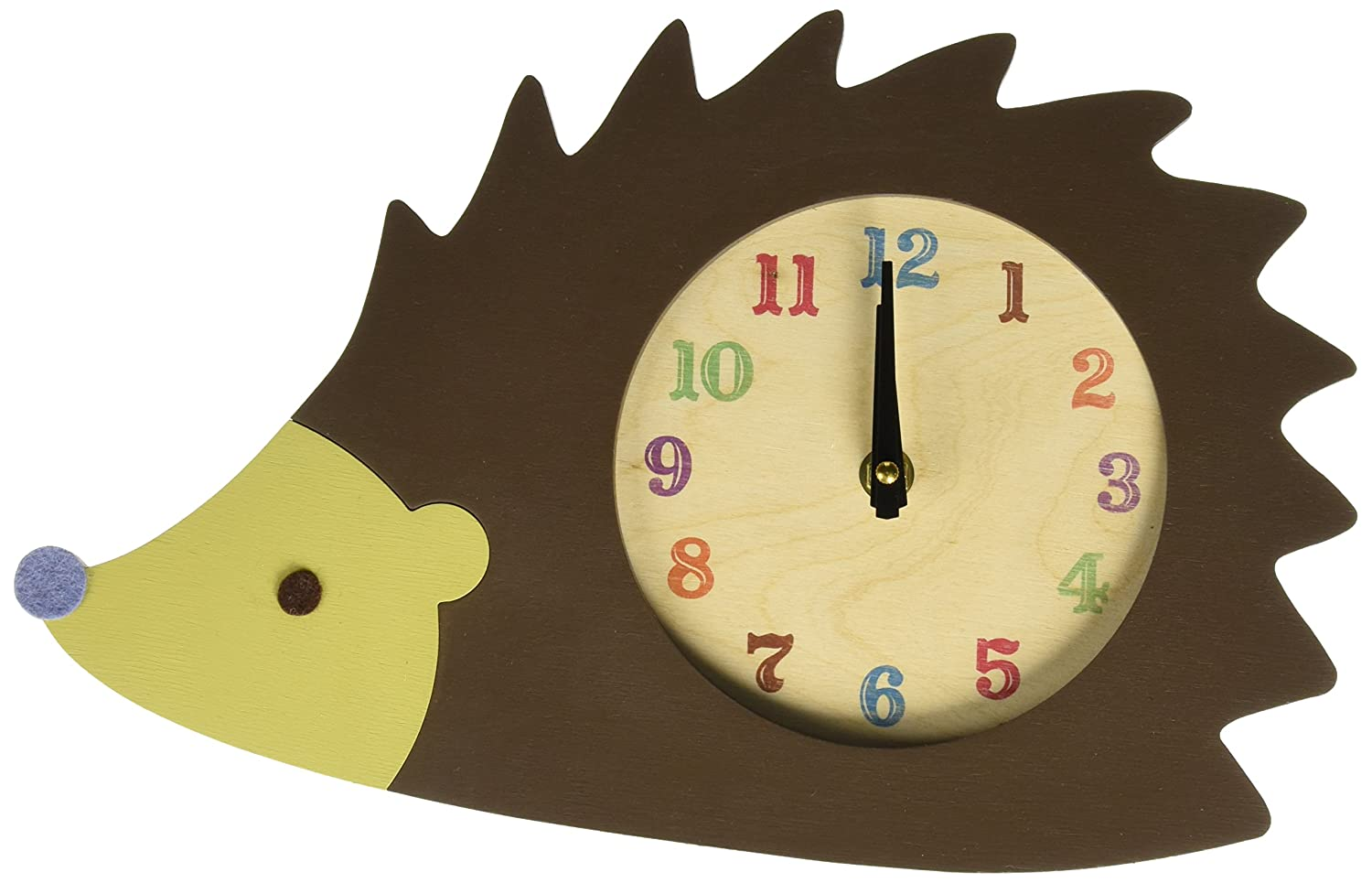 Tree by Kerri Lee Clock, Hedgehog CLOCK-HEDGIE