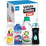 Bundle Offer: Ariel Washing Detergent 2L, Fairy Dishwashing 1L, Downy Fabric Softener 1L, Downy Unstopables Scent Booster 275g
