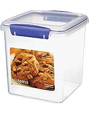 Sistema Klip It 2.35L Cookie Tub, Clear
