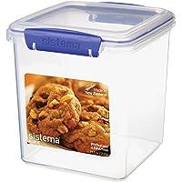 Sistema 1334 Klip It 2.35L Cookie Tub, Clear