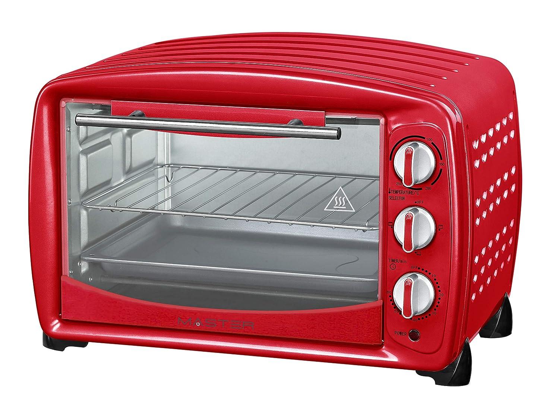 Akai AKFE257RO Horno de microondas AKFE257 Vintage 26L Color Rojo ...