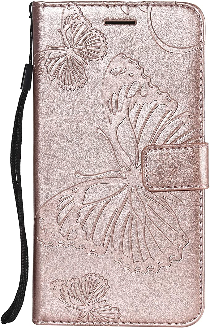 Embosser Design Flip Wallet Protective Case Cover Housse en Cuir LaVibe Portefeuille /Étui /à Rabat LaVibe Clapet Support Fermeture Magn/étique Porte Video Stand Coque iPhone XR 6.1 Pouces