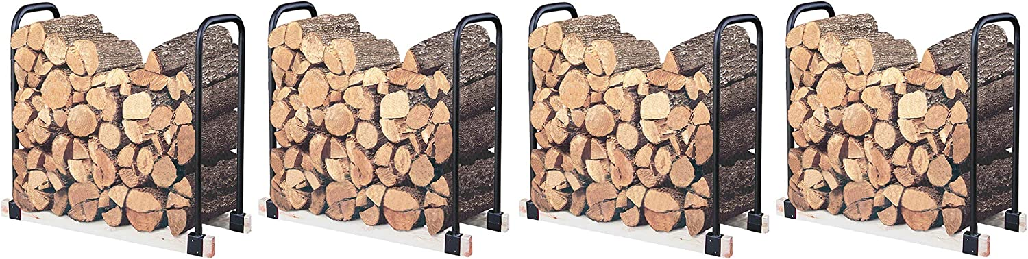 Landmann USA 82424 Adjustable Firewood Rack, Upto 16-Feet Wide F ur Pa k