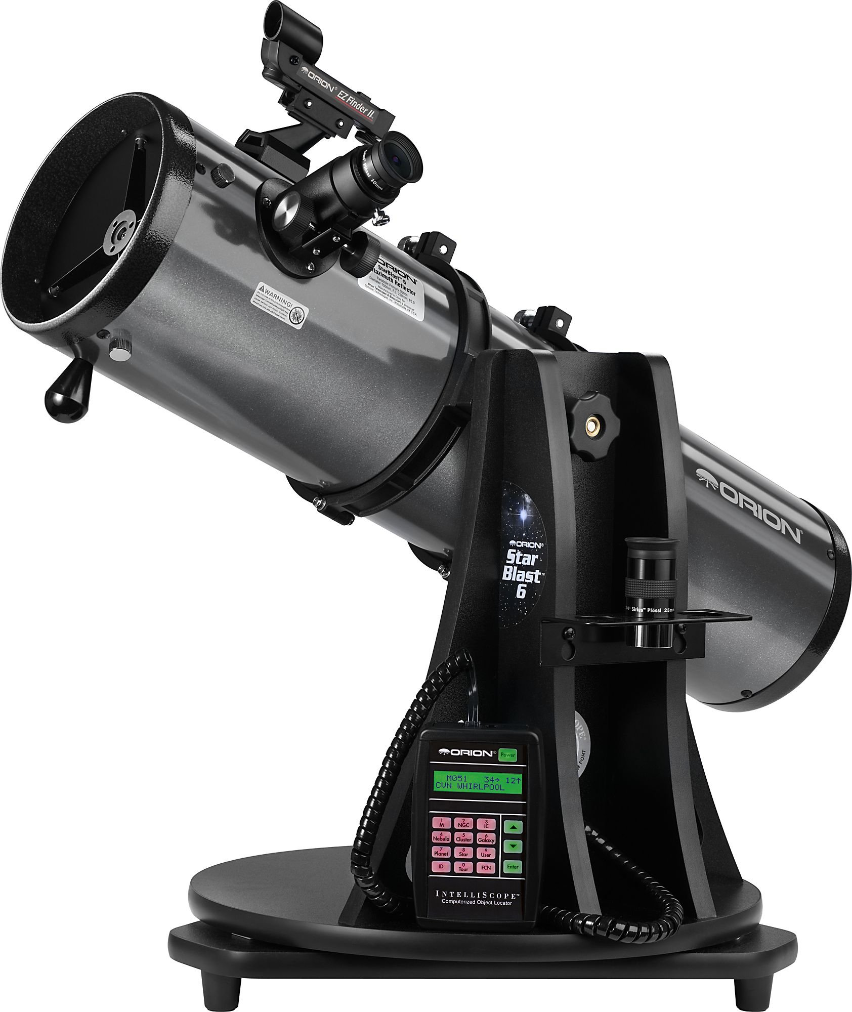 Orion 27191 StarBlast 6i IntelliScope Reflector Telescope Family Astronomy Set