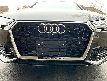 Rear License Plate Holder Bracket Mount For Audi S3 S4 S5 S5 S6 S7 TT Quattro