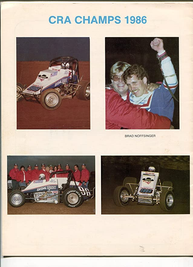 Amazon.com: CRA SPRINT CAR RACE AWARDS BANQUET PROGRAM-STATS ...
