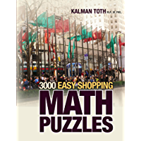 3000 Easy Shopping Math Puzzles (English Edition)