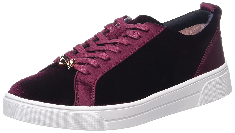 10dbad20de3d35 Amazon.com  Ted Baker Kulei Contrast Trim Womens Trainers  Shoes