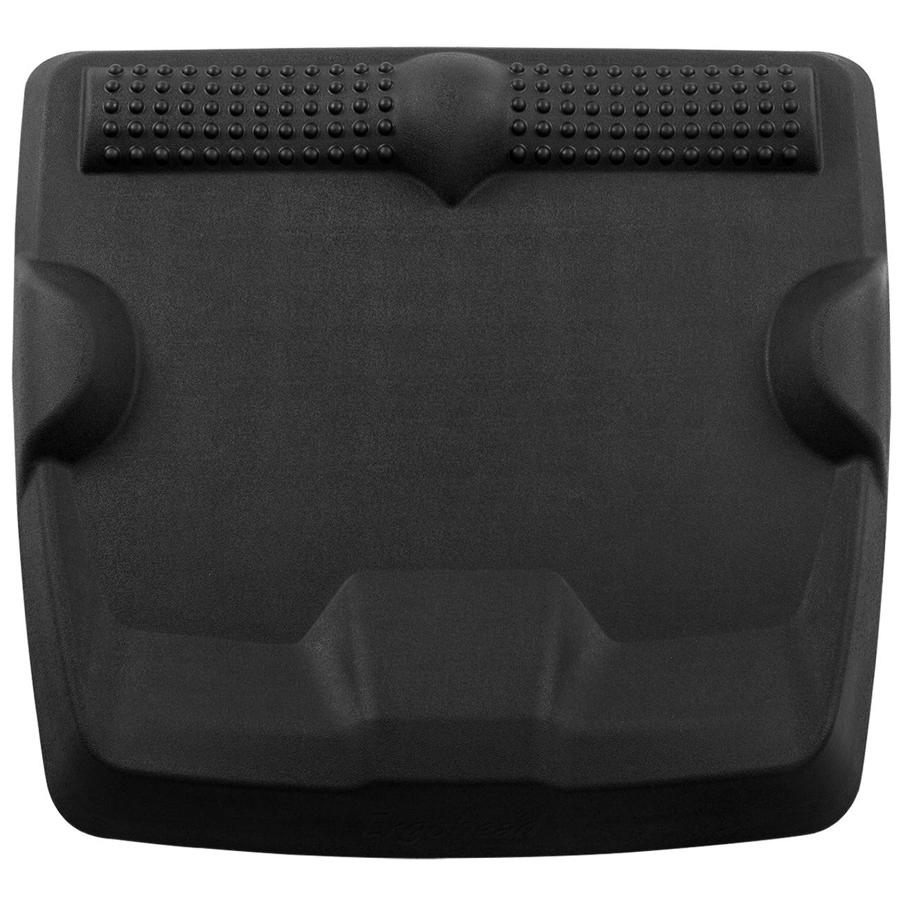 Ergohead Standing Desk Mat - Not-Flat Anti Fatigue Mat For Stand Up Desk, Ergonomically Engineered, Black by Ergohead