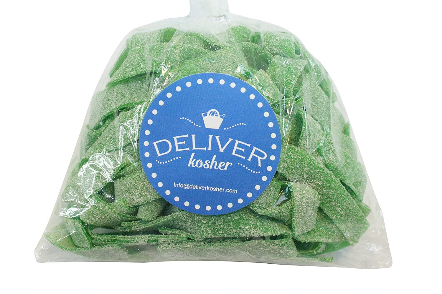 Amazon.com : Deliver Kosher Bulk Candy - Sour Apple Belts - 1lb Bag : Grocery & Gourmet Food