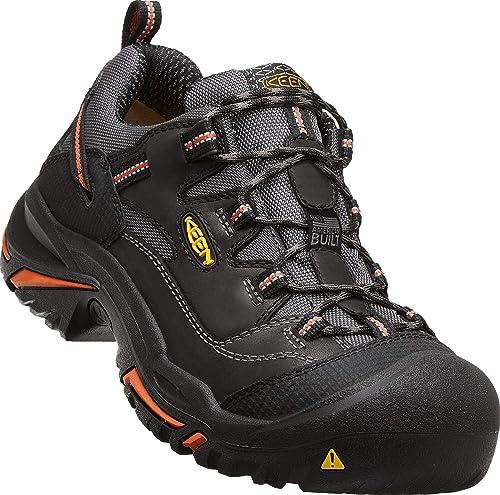 f63a041fef3 KEEN Utility - Men's Braddock Low (Steel Toe) Work Shoes