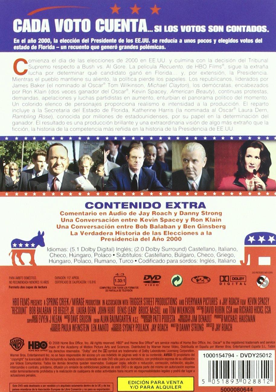 Recuento (2010) [DVD]: Amazon.es: Kevin Spacey, Bob Balaban ...