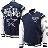 bd3d8cf3c Amazon.com   Dallas Cowboys PU Varsity Jacket   Sports   Outdoors