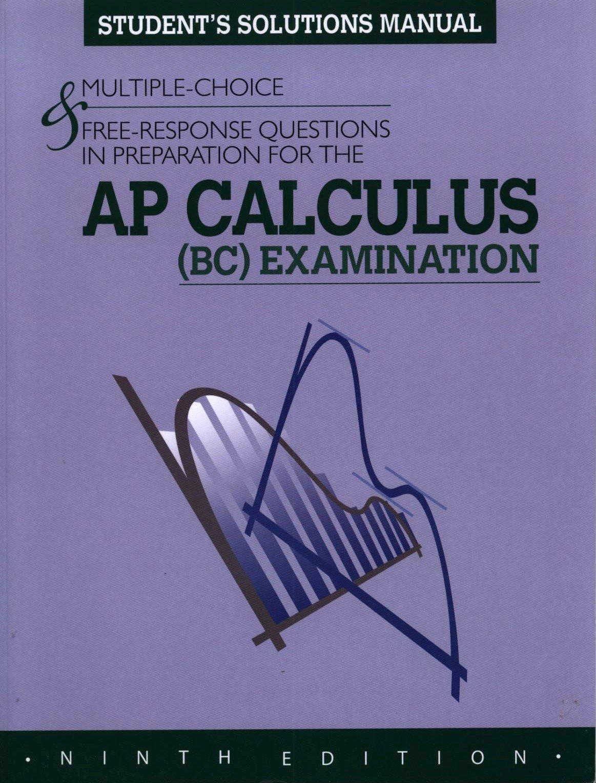 Teacher's Solution Manual for Calculus AP Edition: Roger Lipsett:  9780133563573: Amazon.com: Books