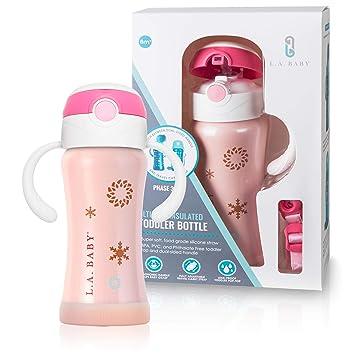Amazon.com: LA Baby Ultimate - Botella aislante con cinta de ...