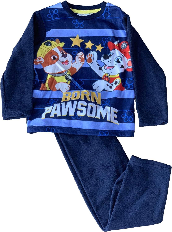 Pijama de Forro Polar de la Patrulla Canina 3/4/5/6 años Azul 3 ...