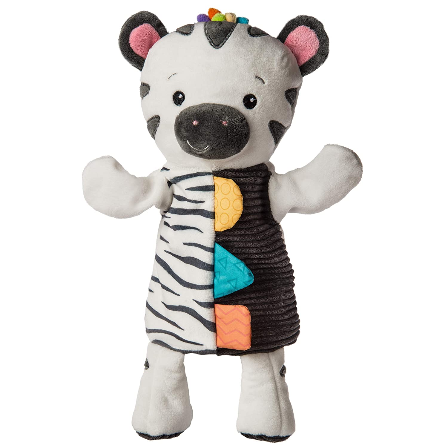 Mary Meyer Baby Einstein First Discoveries Hand Puppet Pal, 13-Inches, Zen Zebra
