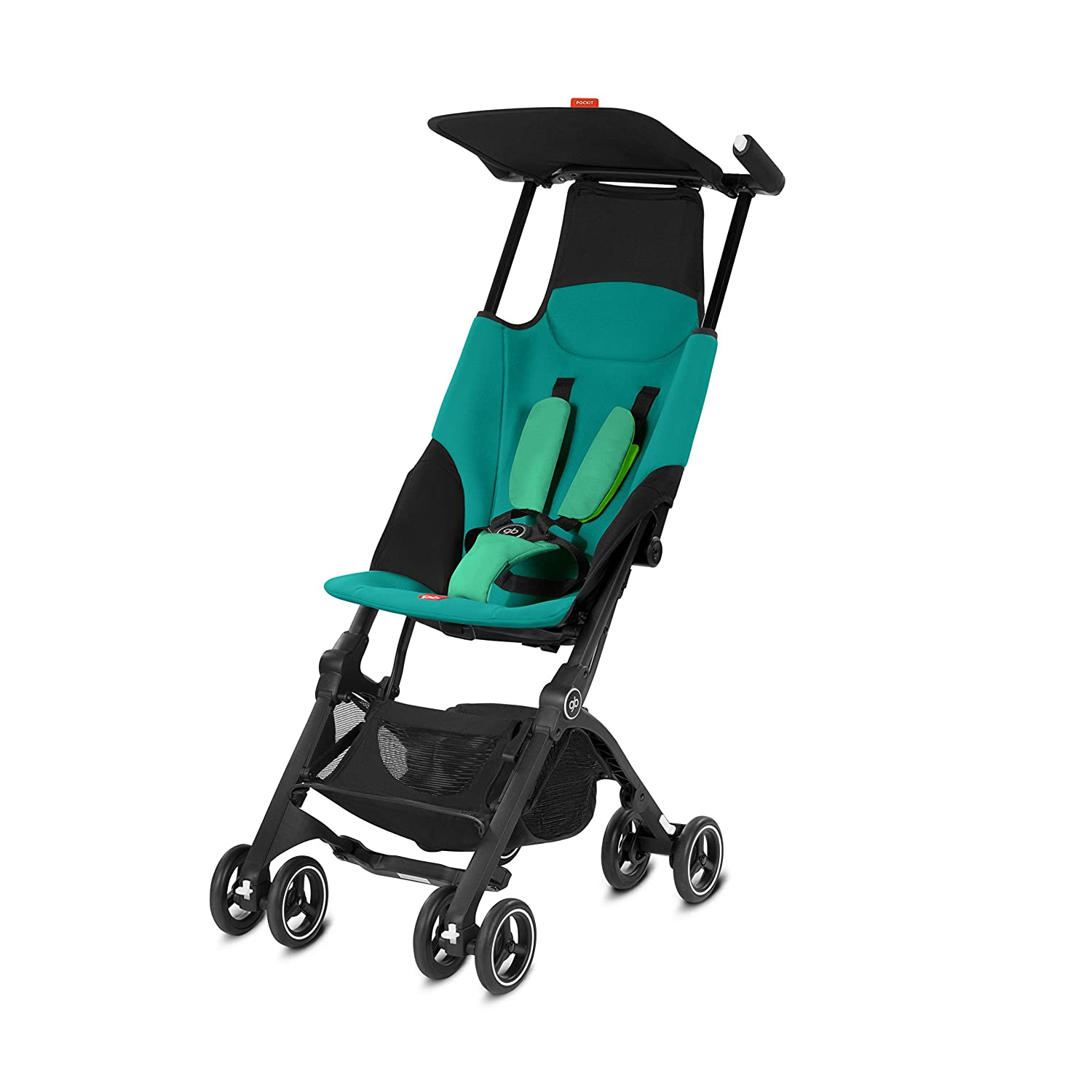 GB Gold Pockit Pushchair, Monument Black 616230007