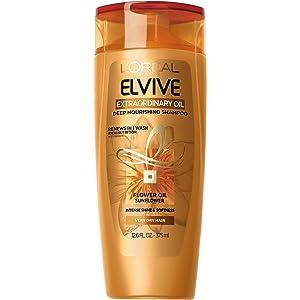 L'Oréal Paris Elvive Extraordinary Oil Deep Nourishing Shampoo, 12.6 fl. oz. (Packaging May Vary)