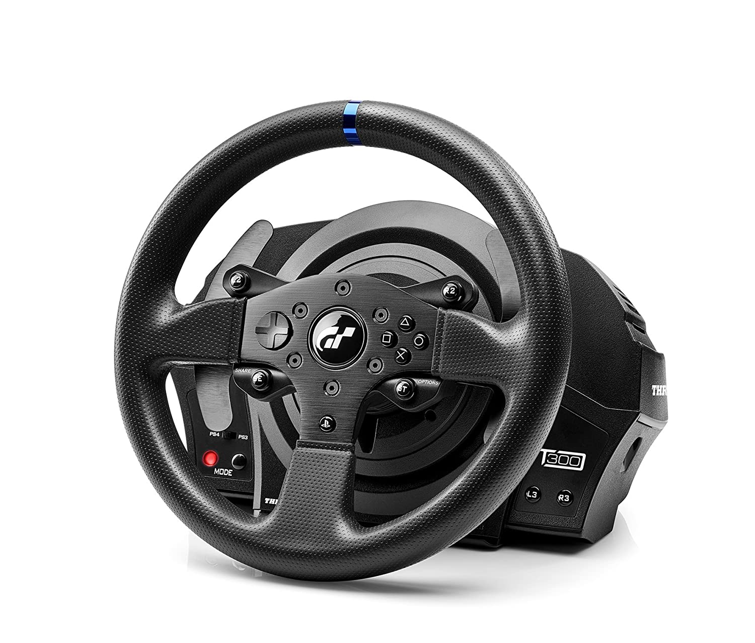 a98ed4e1f57 Thrustmaster T300 RS GT Racing Wheel (PS4/PS3/PC): Amazon.co.uk: PC & Video  Games