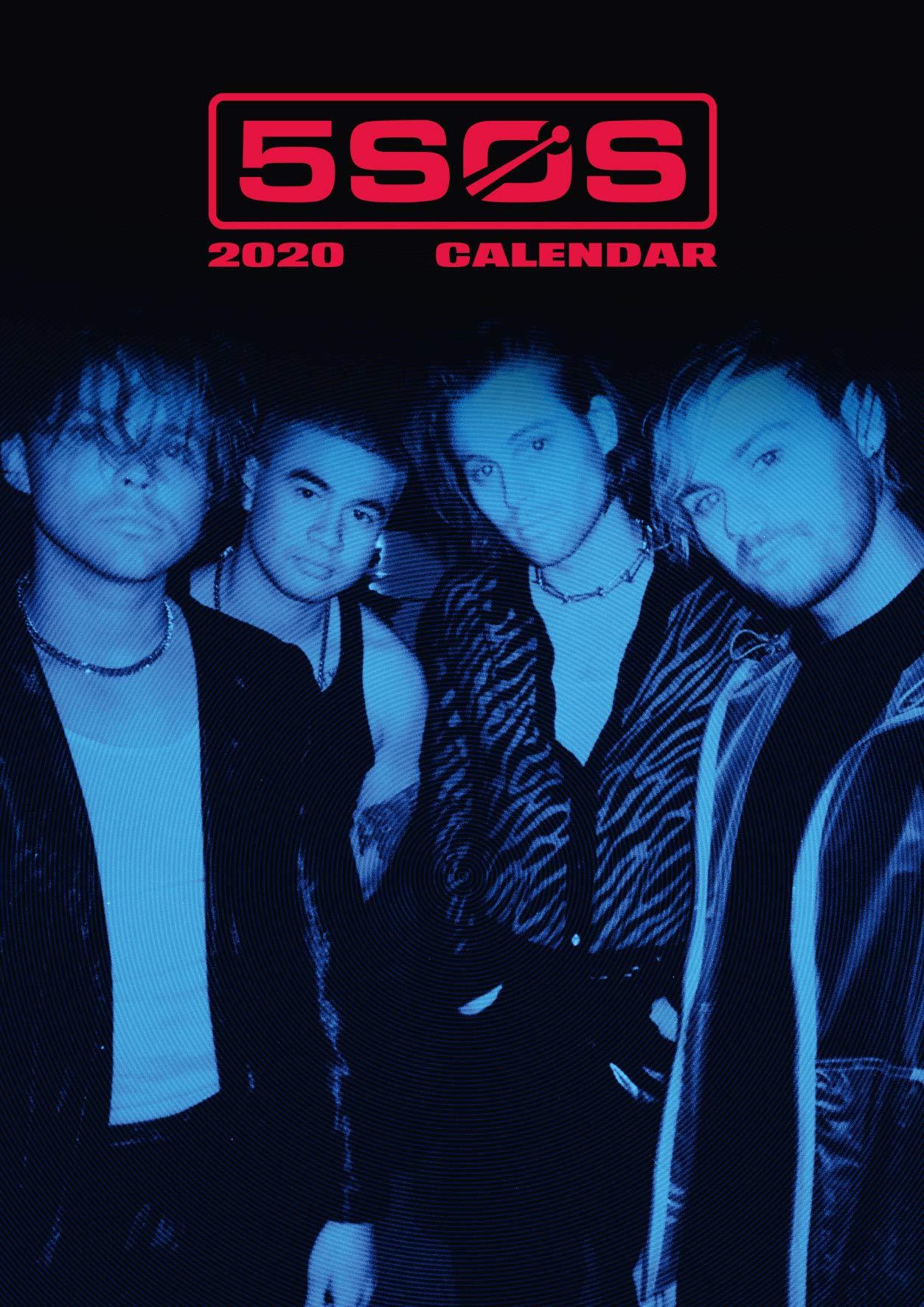 5 Seconds Of Summer 2020.5 Seconds Of Summer 2020 Calendar Official A3 Wall Format