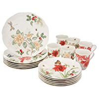 Lenox Butterfly Meadow Holiday 18-Piece Dinnerware Set