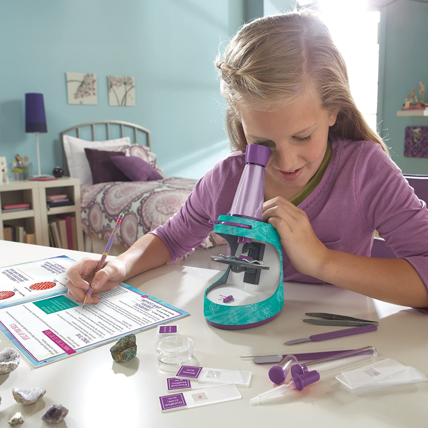 Nancy B's Science Club Microscope and Activity Journal - Award-Winning Science Toys